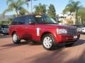 2007 Rimini Red Metallic Land Rover Range Rover HSE  photo #1