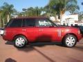 2007 Rimini Red Metallic Land Rover Range Rover HSE  photo #3