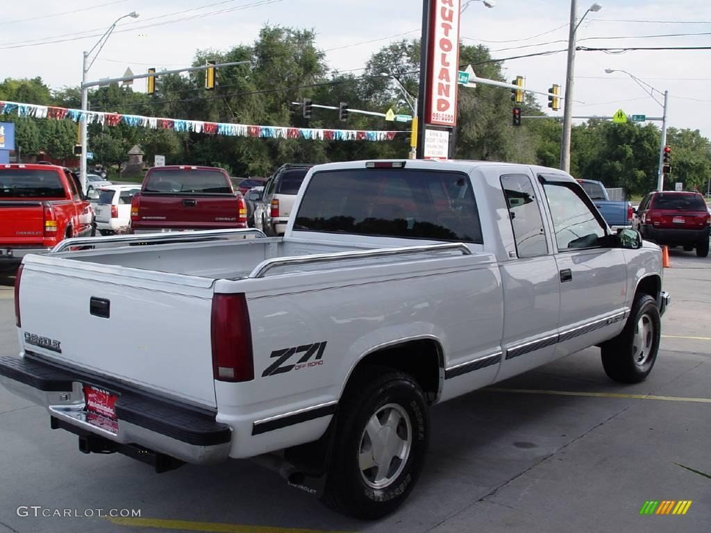 1996 olympic white chevrolet c k k1500 silverado extended. Black Bedroom Furniture Sets. Home Design Ideas