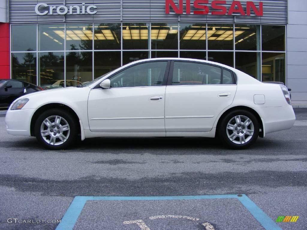 2006 satin white pearl nissan altima 25 s special edition satin white pearl nissan altima vanachro Image collections