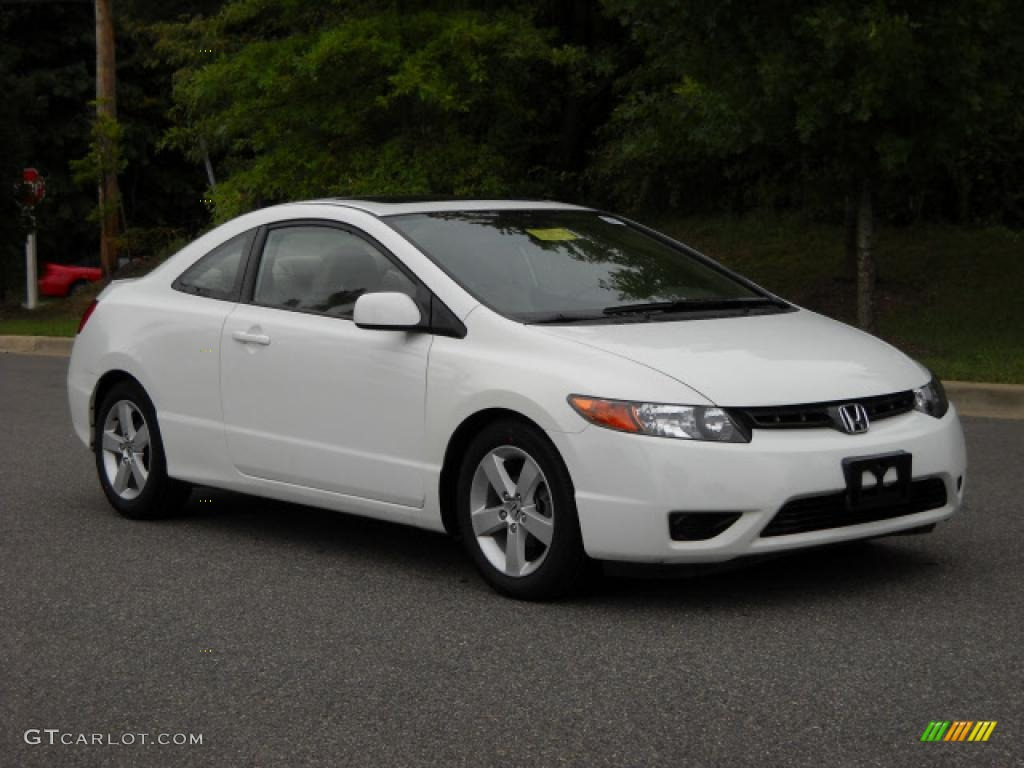 2006 taffeta white honda civic ex coupe 18287878