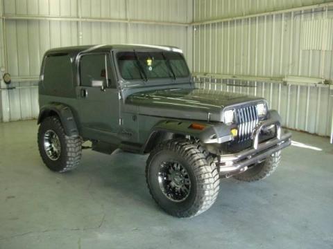 1990 Jeep Wrangler Laredo 4x4 Data, Info and Specs