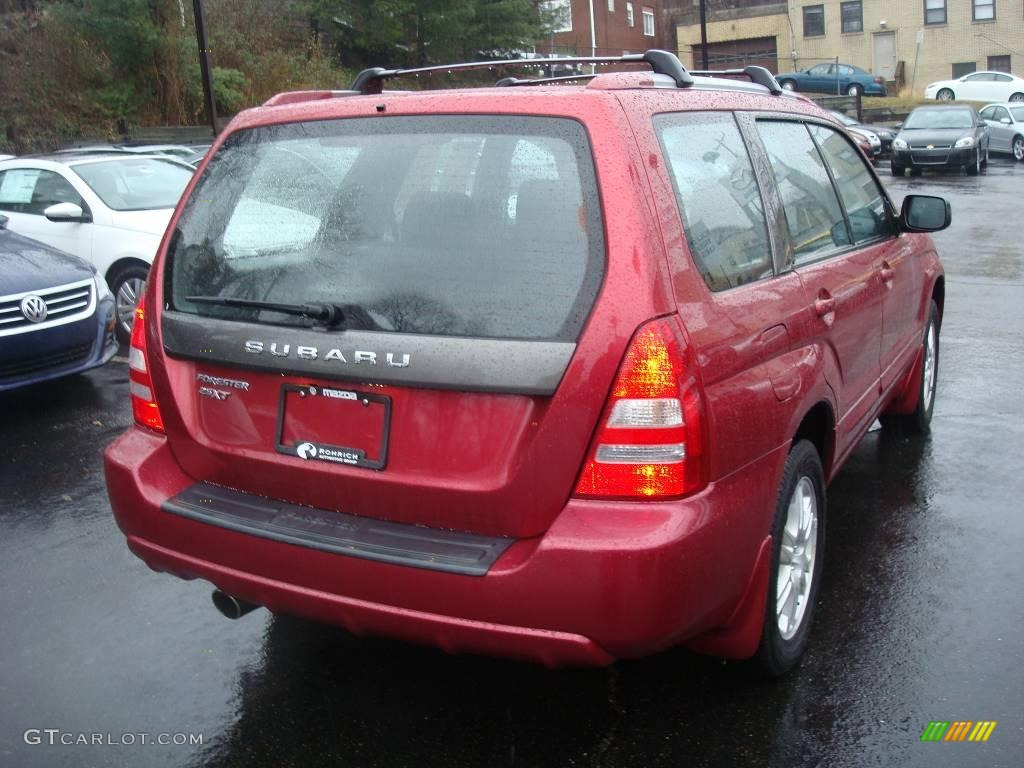 2005 cayenne red pearl subaru forester 25 xt 1830166 photo 5 2005 forester 25 xt cayenne red pearl off black photo 5 vanachro Choice Image