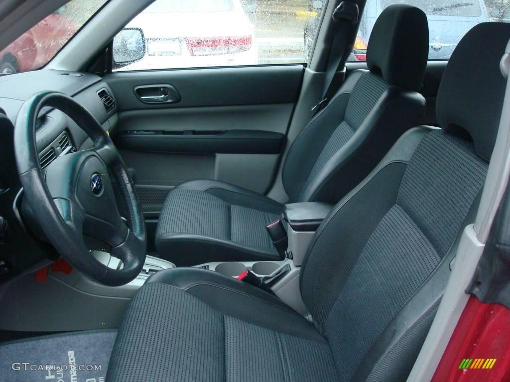 Off Black Interior 2005 Subaru Forester 2 5 Xt Photo 1834912