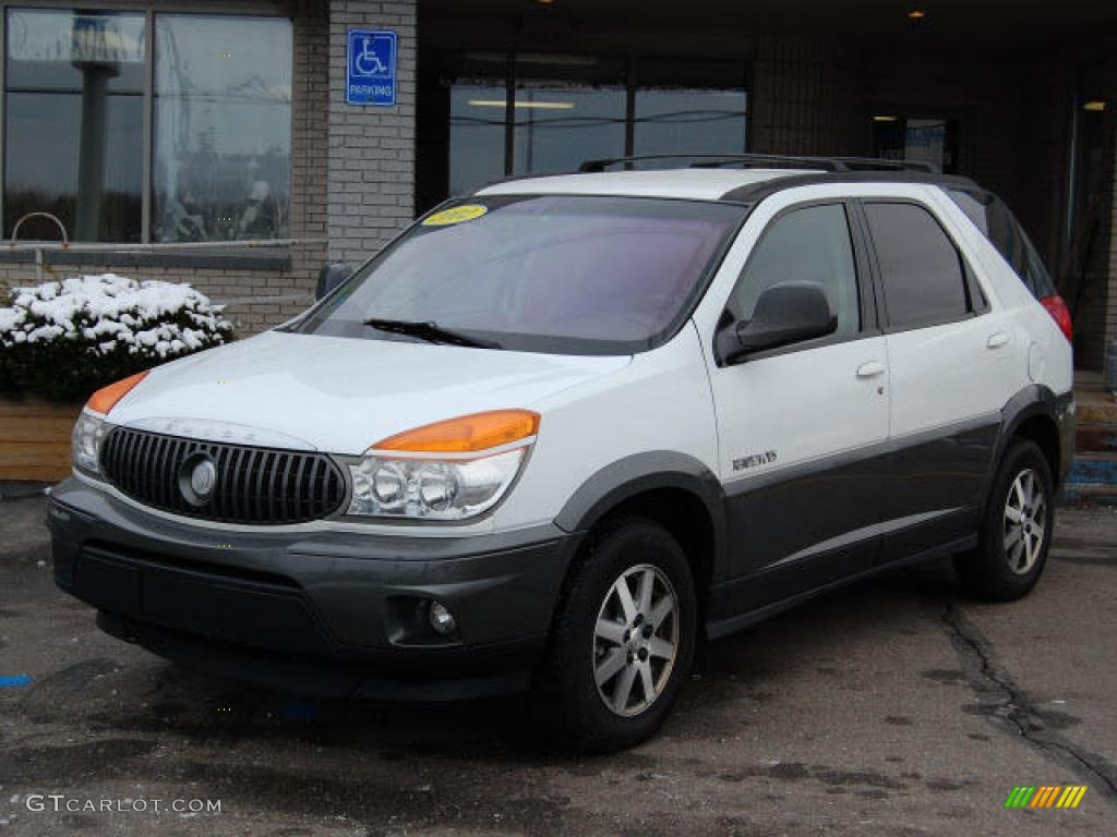 Bright white buick rendezvous