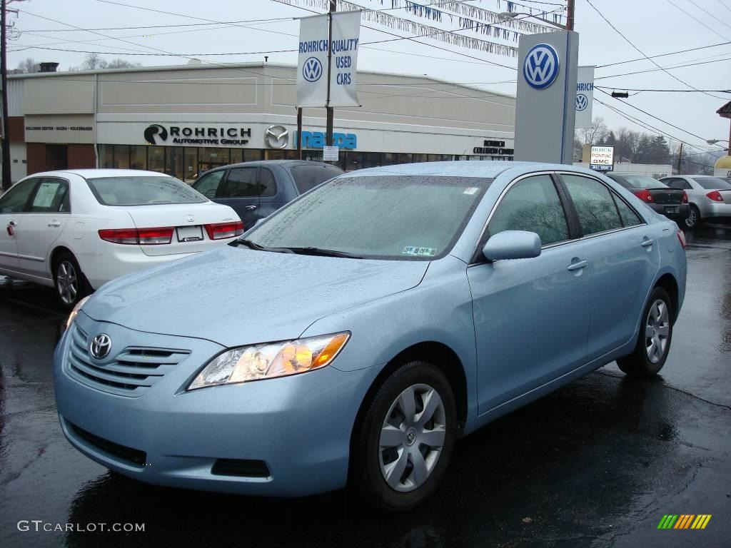 toyota camry 2008 light blue used 2009 toyota camry. Black Bedroom Furniture Sets. Home Design Ideas