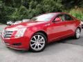 Crystal Red 2008 Cadillac CTS Sedan
