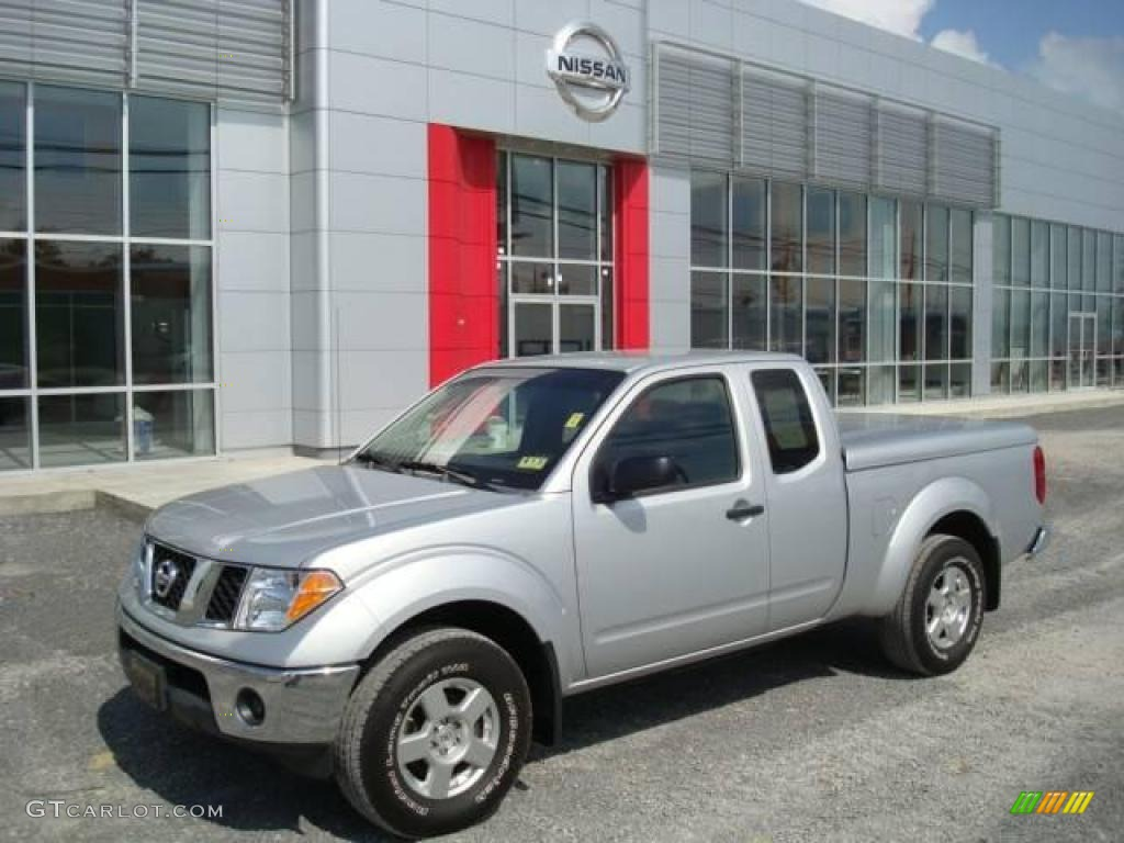2007 radiant silver nissan frontier se king cab 4x4 18368602 car color galleries. Black Bedroom Furniture Sets. Home Design Ideas