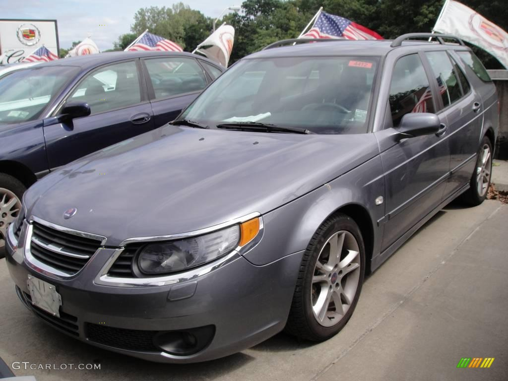 2007 titan gray metallic saab 9 5 2 3t sportcombi wagon. Black Bedroom Furniture Sets. Home Design Ideas