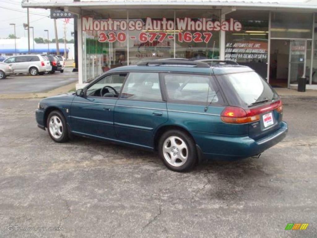 1999 spruce green pearl subaru legacy l wagon 18368303. Black Bedroom Furniture Sets. Home Design Ideas