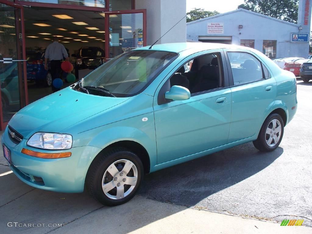 Chevrolet Aveo Paint Codes