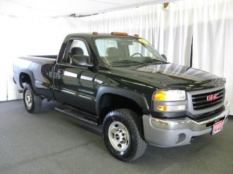 2006 gmc sierra 2500hd sle regular cab 4x4 data info and. Black Bedroom Furniture Sets. Home Design Ideas