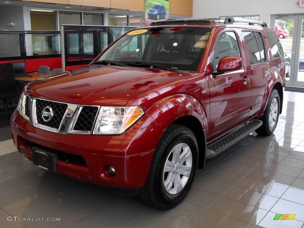 2005 Red Brawn Pearl Nissan Pathfinder Le 18400313 Car Color Galleries
