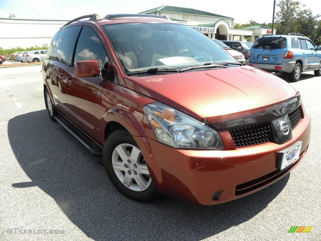 2005 autumn red metallic nissan quest 3 5 sl 18393768. Black Bedroom Furniture Sets. Home Design Ideas