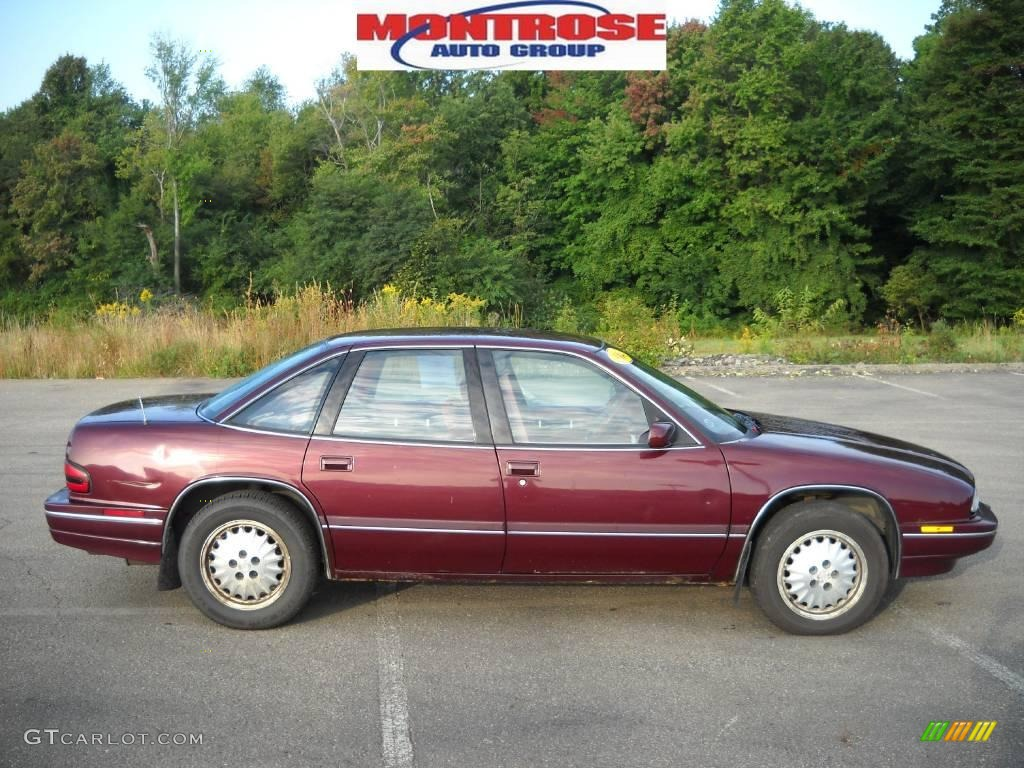 1994 claret red metallic buick regal custom sedan 18450422 gtcarlot com car color galleries gtcarlot com