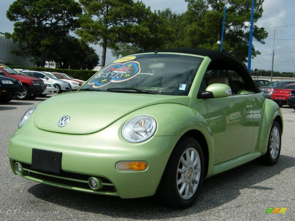 Cyber Green Metallic Volkswagen New Beetle Gls Convertible