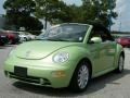 Cyber Green Metallic 2004 Volkswagen New Beetle GLS Convertible