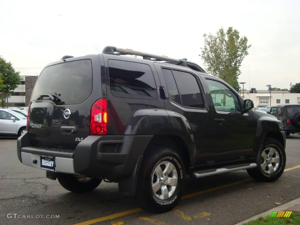 2009 night armor metallic nissan xterra s 4x4 18446461. Black Bedroom Furniture Sets. Home Design Ideas