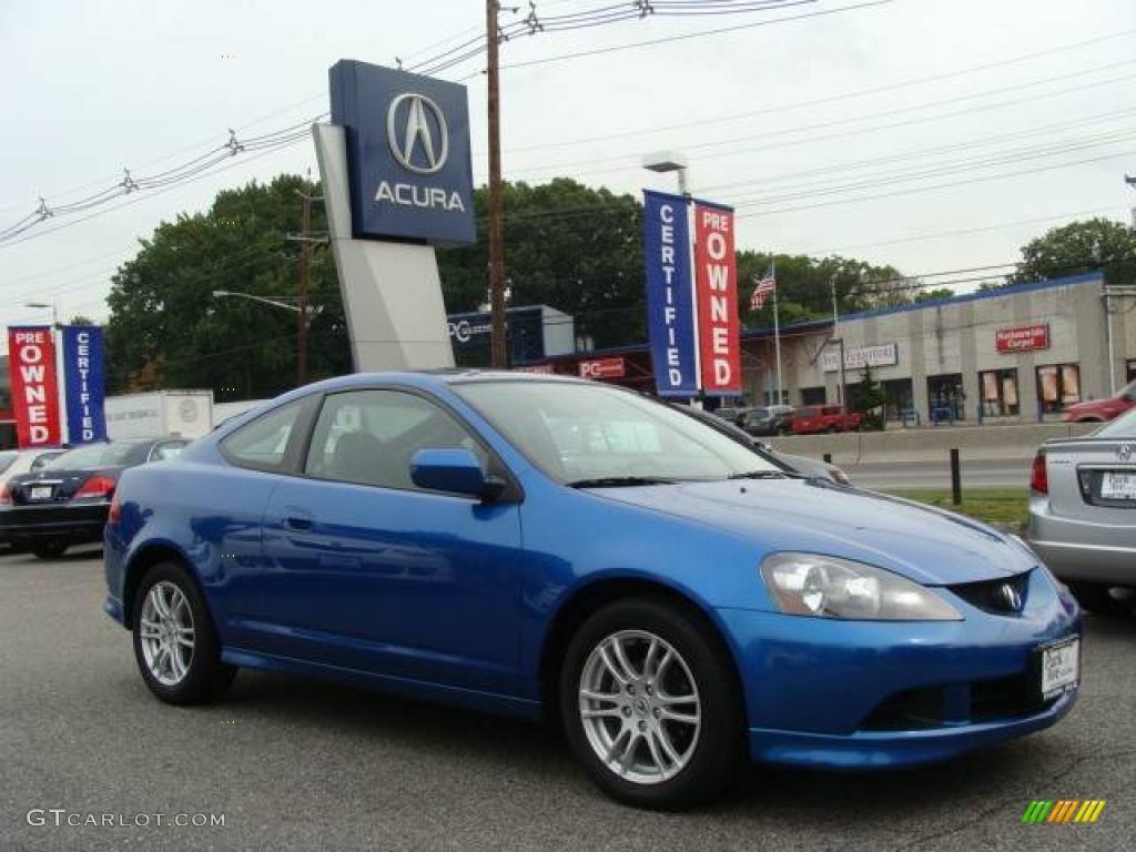 2006 RSX Sports Coupe - Vivid Blue Pearl / Ebony photo #1