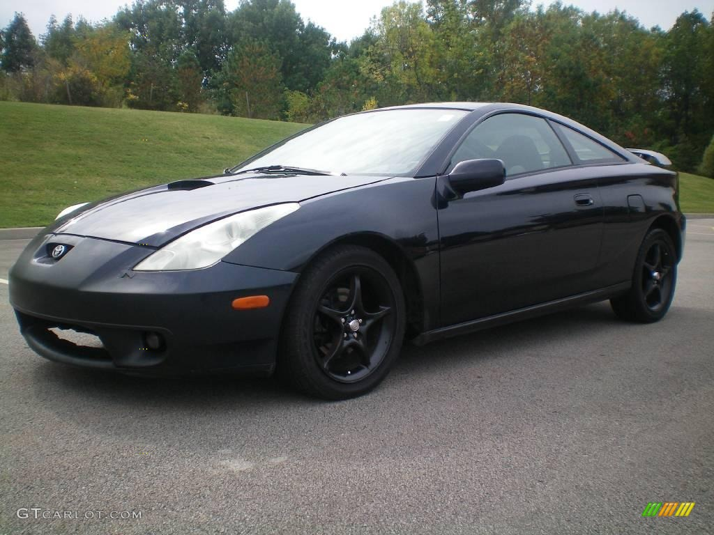 2000 dark blue black metallic toyota celica gt s 18498613. Black Bedroom Furniture Sets. Home Design Ideas