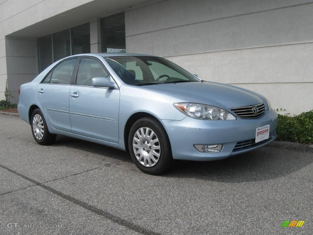 2006 sky blue pearl toyota camry xle 18507559 car color gal. Black Bedroom Furniture Sets. Home Design Ideas