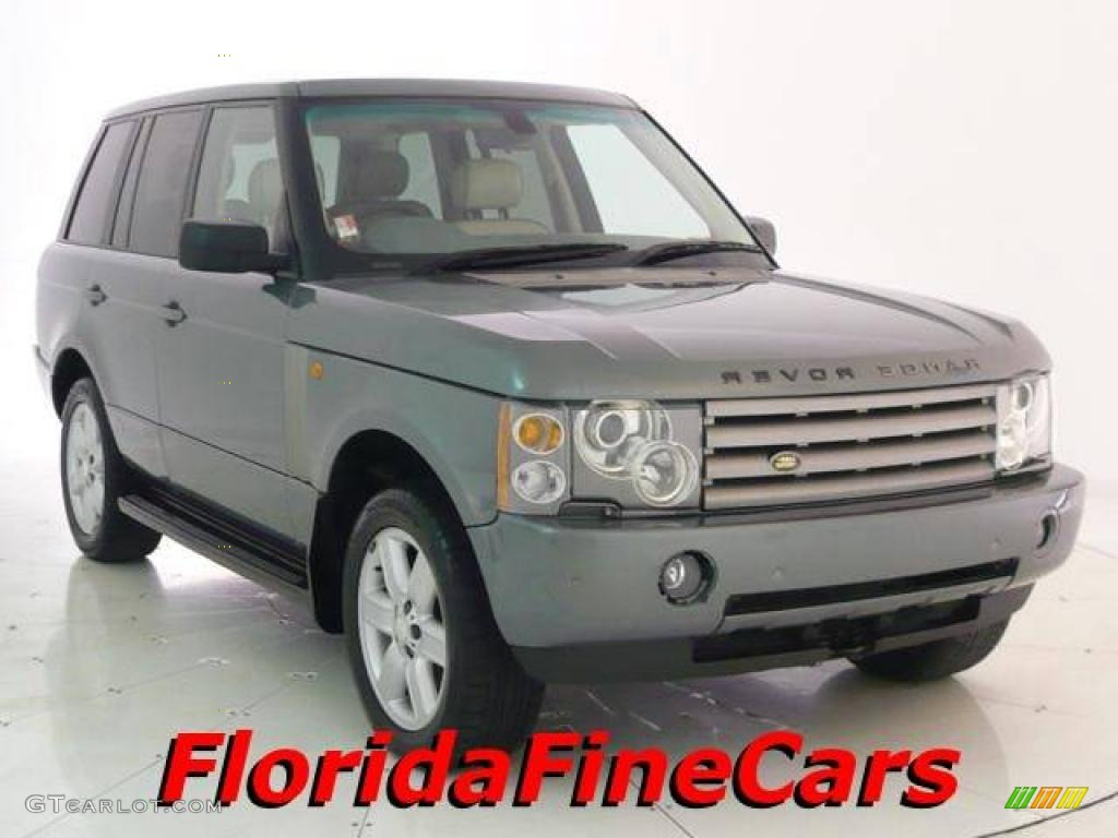 2005 Range Rover HSE - Giverny Green Metallic / Ivory/Aspen photo #1