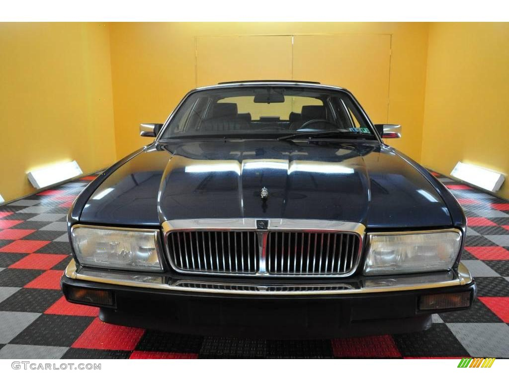 1990 Solent Blue Metallic Jaguar XJ XJ6 Sovereign 18509406 Photo