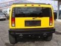 2003 Yellow Hummer H2 SUV  photo #3