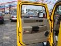 2003 Yellow Hummer H2 SUV  photo #14