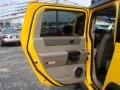 2003 Yellow Hummer H2 SUV  photo #15
