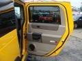 2003 Yellow Hummer H2 SUV  photo #16
