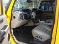 2003 Yellow Hummer H2 SUV  photo #18