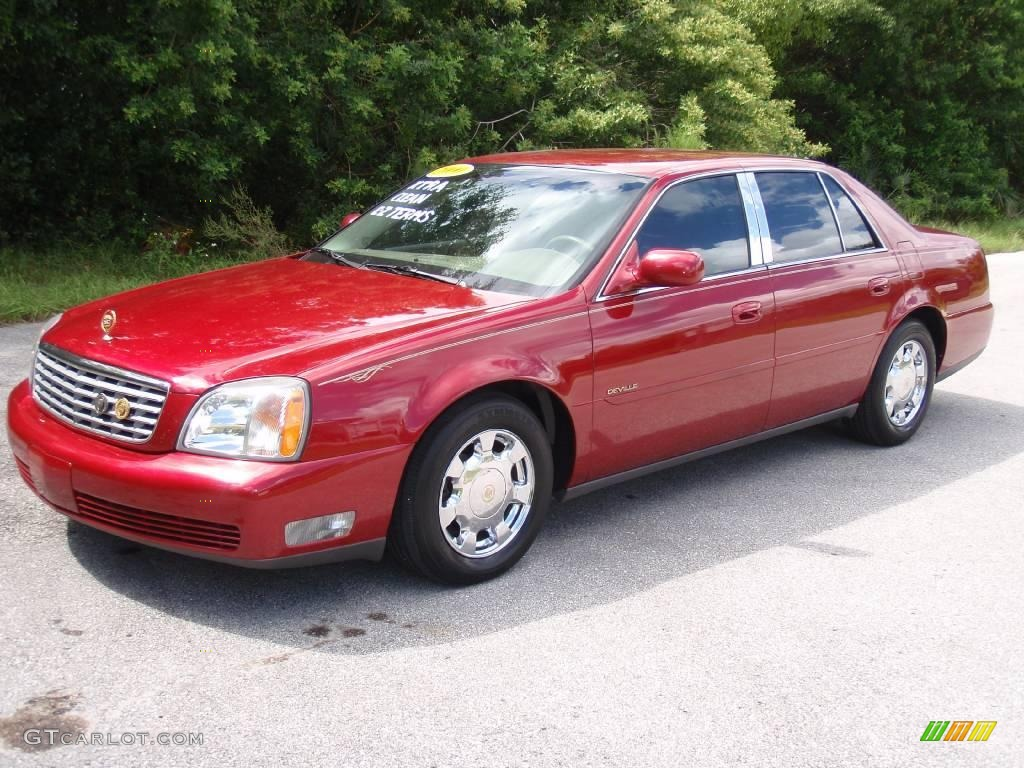 2000 crimson red pearl cadillac deville sedan 18575420. Cars Review. Best American Auto & Cars Review