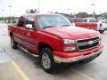 2006 Victory Red Chevrolet Silverado 1500 LS Crew Cab 4x4  photo #5