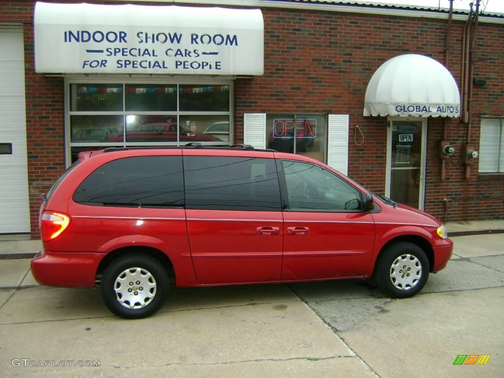 Inferno Red Tinted Pearlcoat Chrysler Town & Country