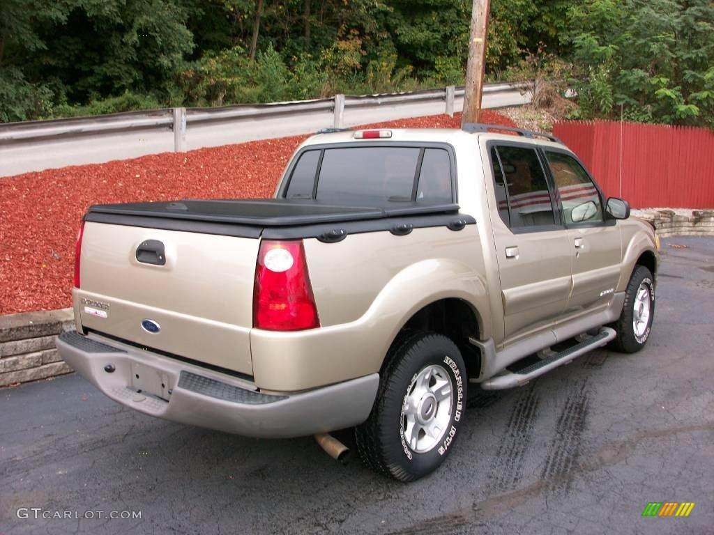 2002 Harvest Gold Metallic Ford Explorer Sport Trac 18565784 Photo 6 Car