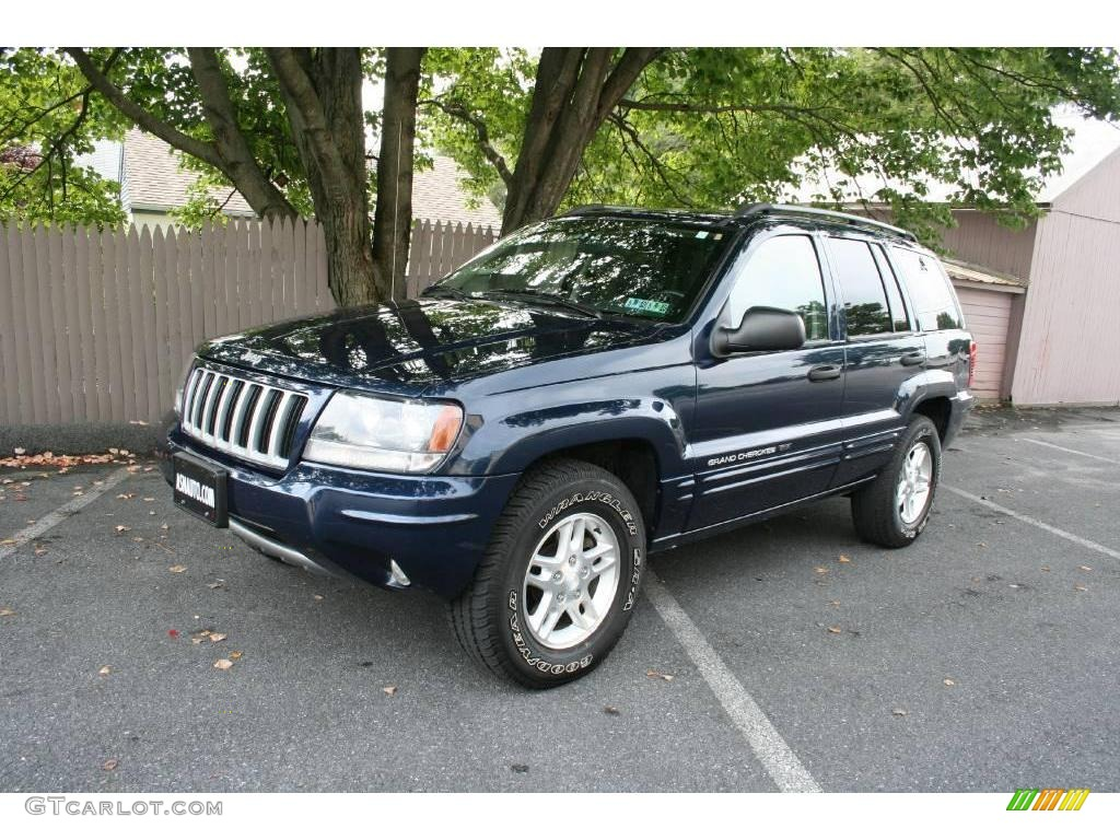 Jeep Cherokee White And Black >> 2004 Midnight Blue Pearl Jeep Grand Cherokee Special Edition 4x4 #18572744 | GTCarLot.com - Car ...