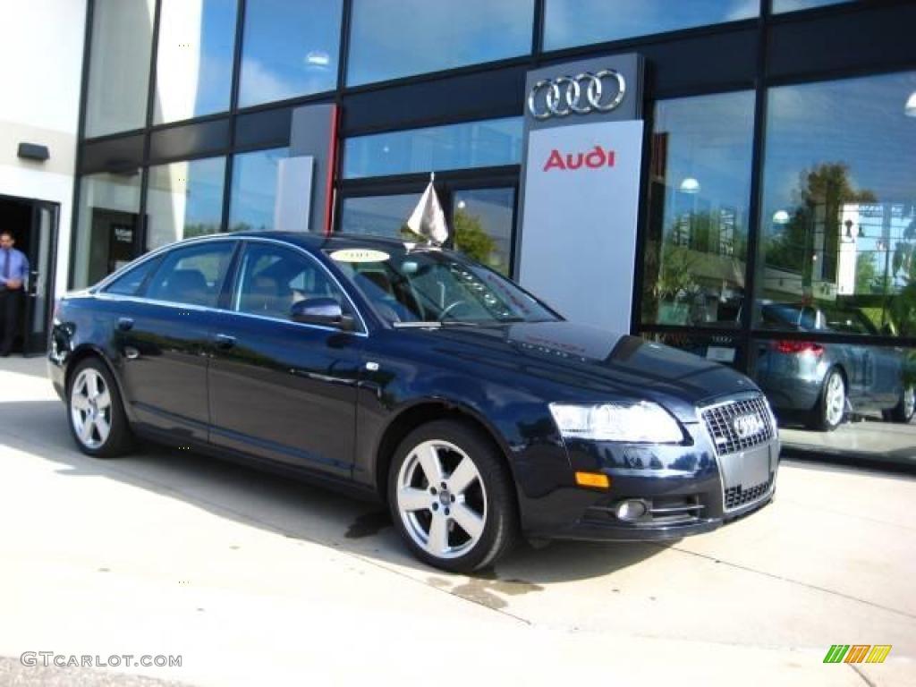 2008 Night Blue Pearl Effect Audi A6 32 Quattro Sedan 18569300