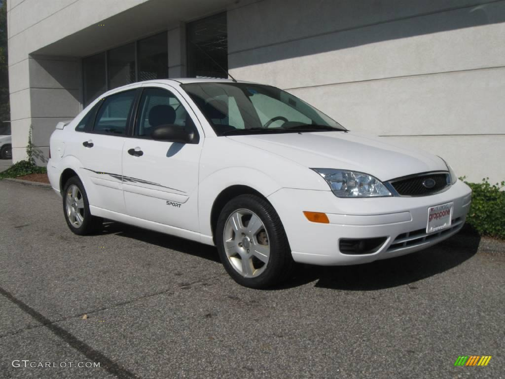 Cloud 9 white ford focus