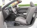 2007 Satin Silver Metallic Ford Mustang V6 Deluxe Convertible  photo #8