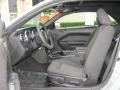 2007 Satin Silver Metallic Ford Mustang V6 Deluxe Convertible  photo #9