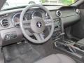 2007 Satin Silver Metallic Ford Mustang V6 Deluxe Convertible  photo #12