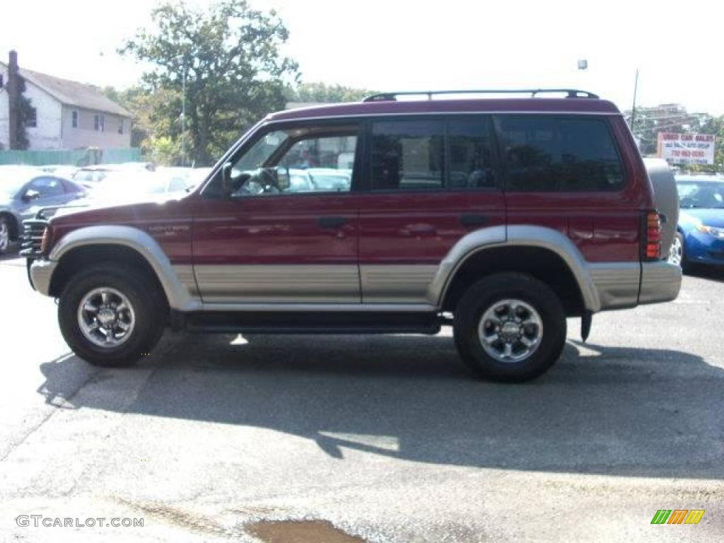 1997 Cambridge Red Pearl Metallic Mitsubishi Montero Sr 4x4 18568973 Photo 8 Gtcarlot Com
