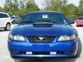 2002 Sonic Blue Metallic Ford Mustang GT Coupe  photo #8