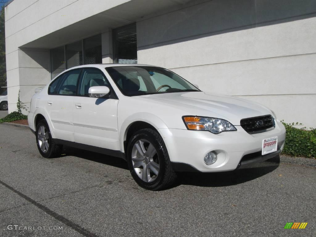 2006 satin white pearl subaru outback 3 0 r l l bean. Black Bedroom Furniture Sets. Home Design Ideas