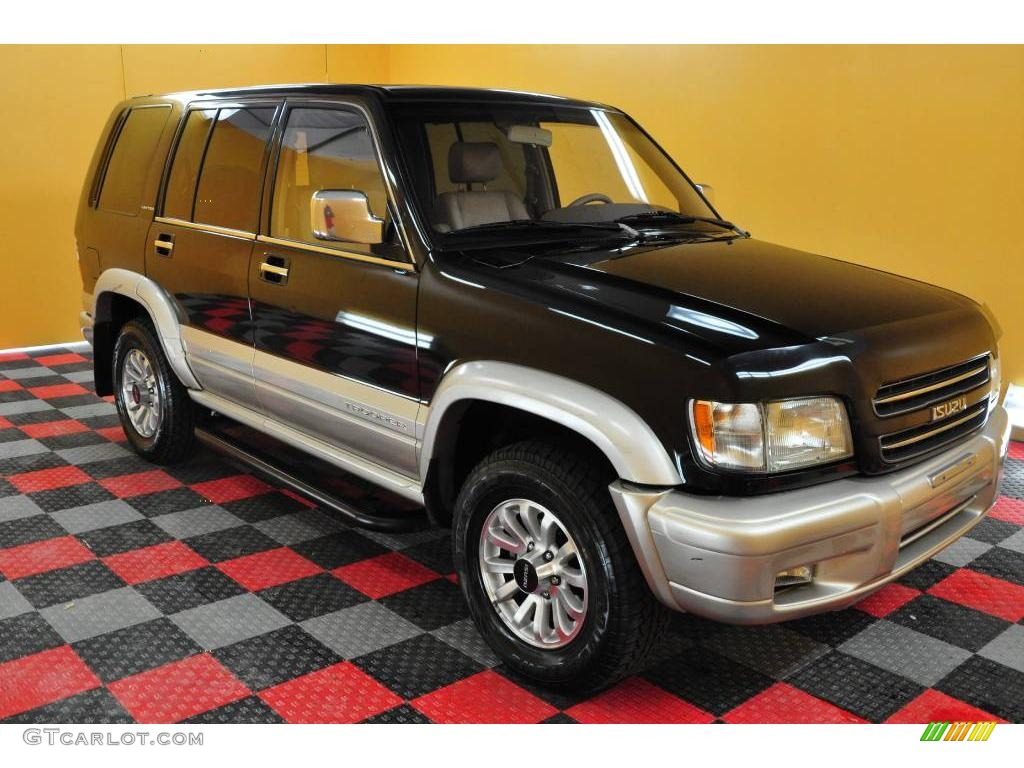 2000 Ebony Black Isuzu Trooper Limited 4x4 18639974 Gtcarlot Com Car Color Galleries