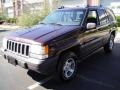1996 Dark Rosewoood Pearlcoat Jeep Grand Cherokee Laredo 4x4 #18640712