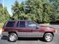1996 Dark Rosewoood Pearlcoat Jeep Grand Cherokee Laredo 4x4  photo #7