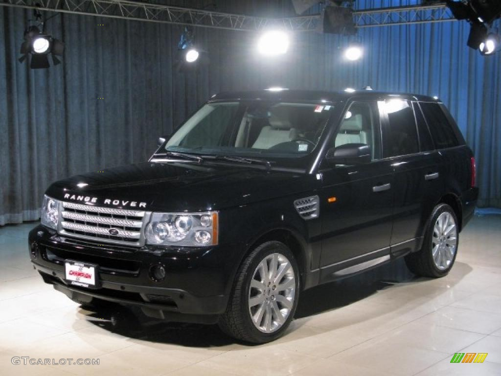 2007 land rover range rover sport supercharged java black pearl. Black Bedroom Furniture Sets. Home Design Ideas