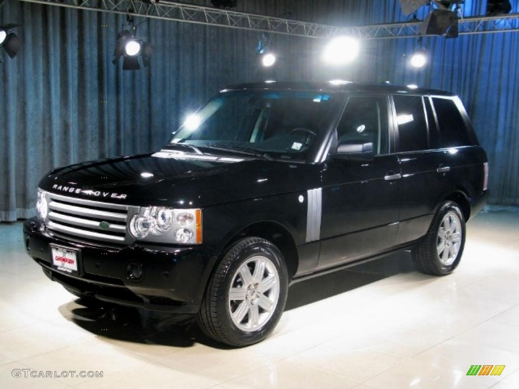 2007 Range Rover HSE - Java Black Pearl / Charcoal photo #1